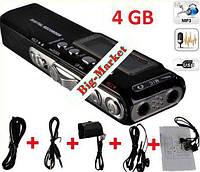 Цифровой Диктофон плейер флешка 4gB MP3 USB - 2ААА