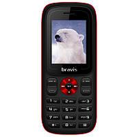 Мобильный телефон Bravis C180 Jingle Dual Sim Black