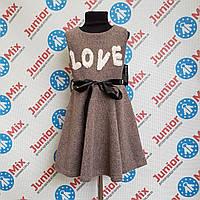 Детский модный сарафан для девочек  оптом MODA ITALY