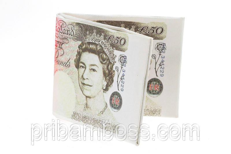 Бумажник - пачка фунтов-стерлингов