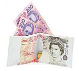 Бумажник - пачка фунтов-стерлингов, фото 2