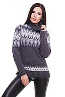 Женский стильный свитер, в  расцветках