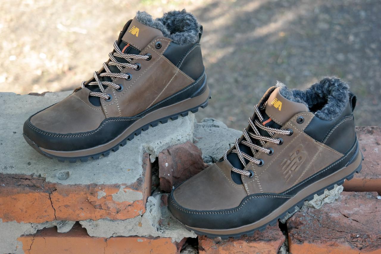 ... Зимние мужские кожаные кроссовки ботинки в стиле New Balance 2 цвета ,  отличное качество Стильные, ... bc96fb6c607