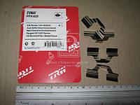 Колодка тормозная комплект монтажный VW BORA, PASSAT, POLO заднего (производитель TRW) PFK405