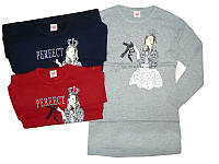 Платье  вязаное  для девочек опт, Glo-story, размеры 134-164,  арт. GYQ-4531, фото 1