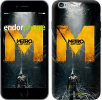 "Чехол на iPhone 6 Plus Metro. Last light ""631c-48-6129"""