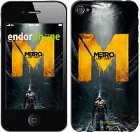"""Чехол на iPhone 4s Metro. Last light """"631c-12-6129"""""""