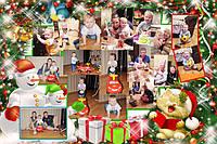 Детский фотоколлаж ребенку: День рождения, Школьный, До свидания детский сад
