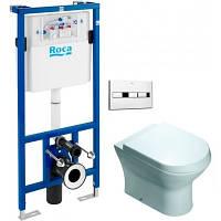 Roca Комплект Nexo унитаз + Pro инсталляция для унитаза