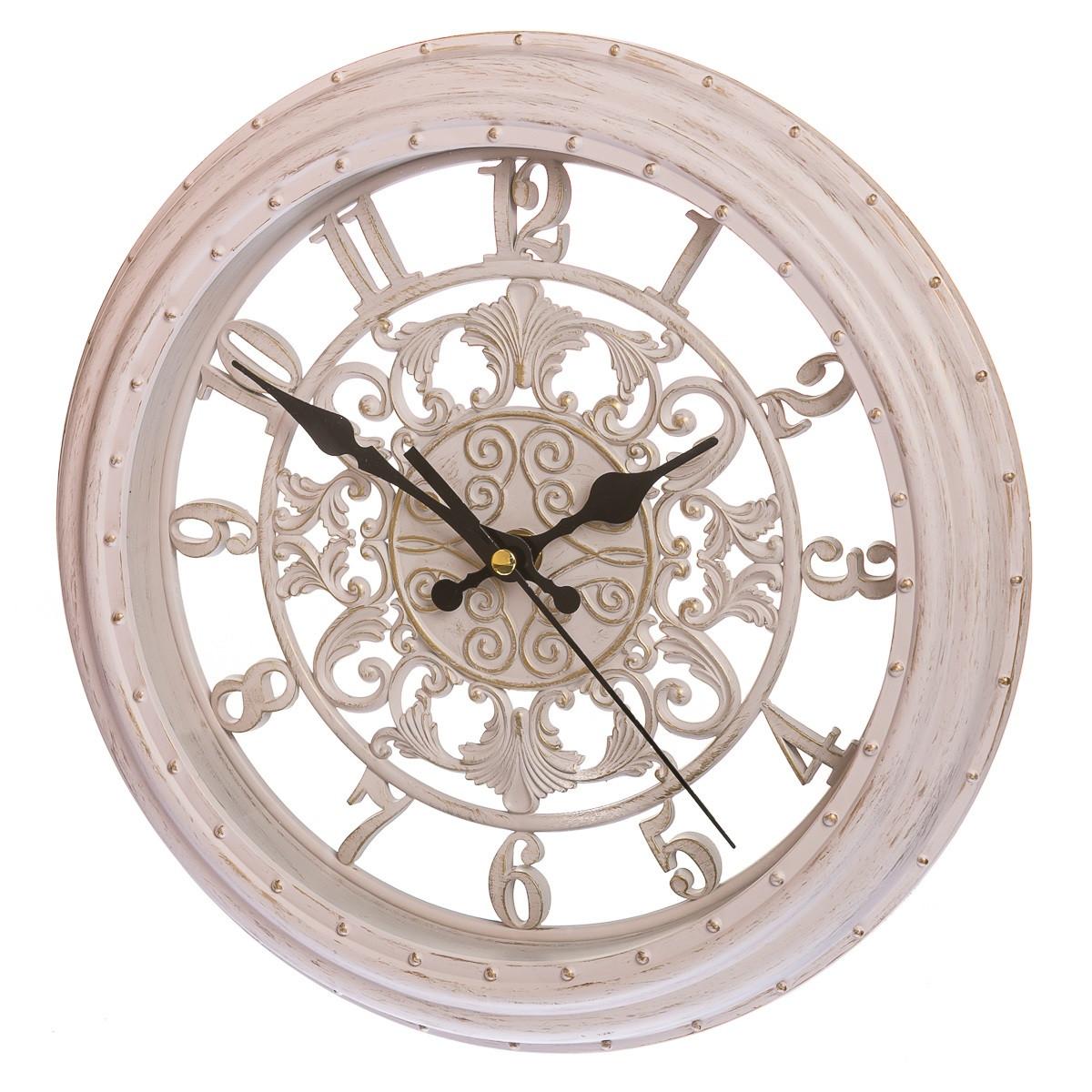 Часы настенные 28 см (131A/cream)