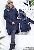 Зимняя куртка мама дочка