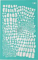 Трафарет многоразовый самоклеющий Фоновый №1305 серия Абстракция  13x20 мм Rosa Talent
