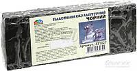 Пластилин Гамма Скульптурный черный 331027 400 г