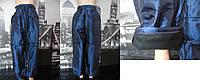 Детские штаны зимние синего цвета