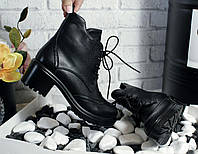 Ботинки на тракторной подошве Материал: эко кожа