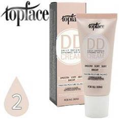 TopFace - Тональный DD крем PT-455 35ml Тон 02 rose beige, светлый тон