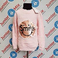 Модная теплая детская ангоровая кофта для девочек оптом  JOLIE ANGEL
