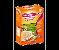 Злаковая каша Plasmon для малышей от 4 злака лучшее детское питание