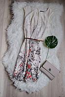 Цветочное шифоновое платье с поясом Atmosphere