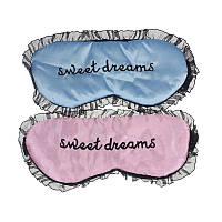 Атласная маска для сна. Кружевная , фото 1