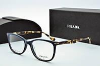 Оправа прямоугольная Prada темно-синяя, фото 1