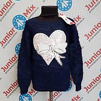 Теплі дитячі модні кофти для дівчаток оптом JOY ІТАЛІЯ, фото 1
