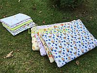 Подушка стандартная для новорожденного байковая