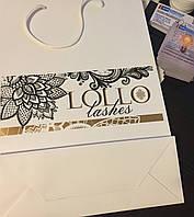 Бумажные пакеты с логотипом от 50 шт.