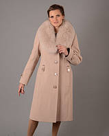 Зимнее женское пальто из кашемира