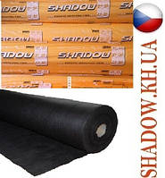 "Агроволокно ""Shadow"" (Чехия) 4% черное 50 г/м²  1,6 х 100 м."