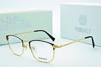 Оправа Versace коричневая с золотом, фото 1