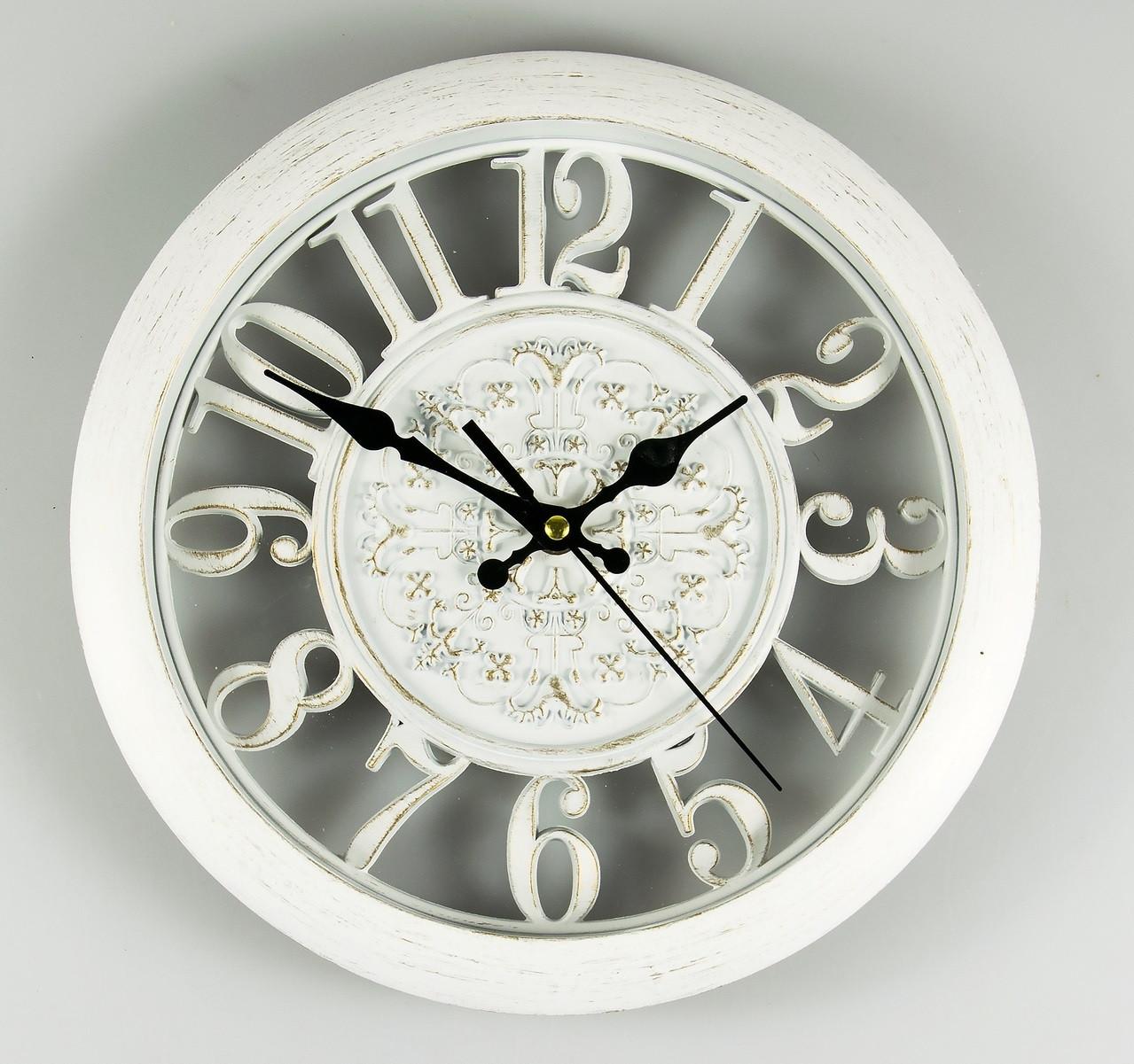 Часы настенные 28 см (068A/white)