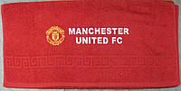 Полотенце махровое банное с символикой FC Manchester