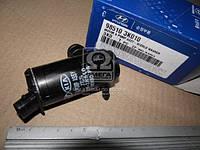 Мотор омывателя лобового стекла (производитель Mobis) 985103K010