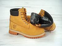 Ботинки Timberland с мехом р.36-45