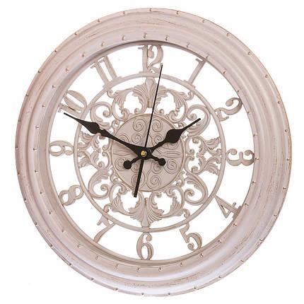 Кварцевые настенные часы 36 см (133A/cream), фото 2