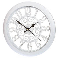 Настенные часы кварцевые 36 см 132A/white