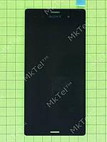 Дисплей Sony Xperia Z3 D6603 с сенсором Оригинал Китай Черный
