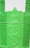 Пакет полиэтиленовый Майка  №5, Упаковка: 100 шт, Ширина: 35 см, Высота: 58 см, Плотность: 30 Мкм