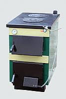 Котел nвердотопливный ТИВЕР-КТ 18 кВт + плита +регул