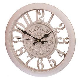 Часы настенные 28 см 068A/cream