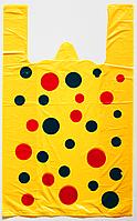 """Пакет полиэтиленовый Майка  """"Шар"""", Упаковка: 250 шт, Ширина: 28 см, Высота: 46 см"""