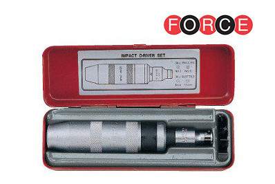 Отвертка ударно-поворотная с набором удлиненных (Force 5064L)