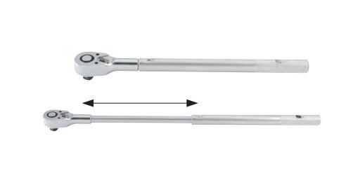 """3/4"""" Трещотка телескопическая с металлической ручкой (48 зуб.) L=820 мм 3/4"""" Трещотка телескопическая с металлической ручкой (48 зуб.) L=820 мм"""
