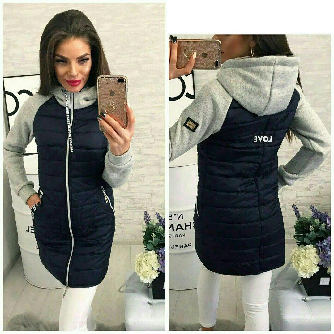 Удлиненная женская куртка