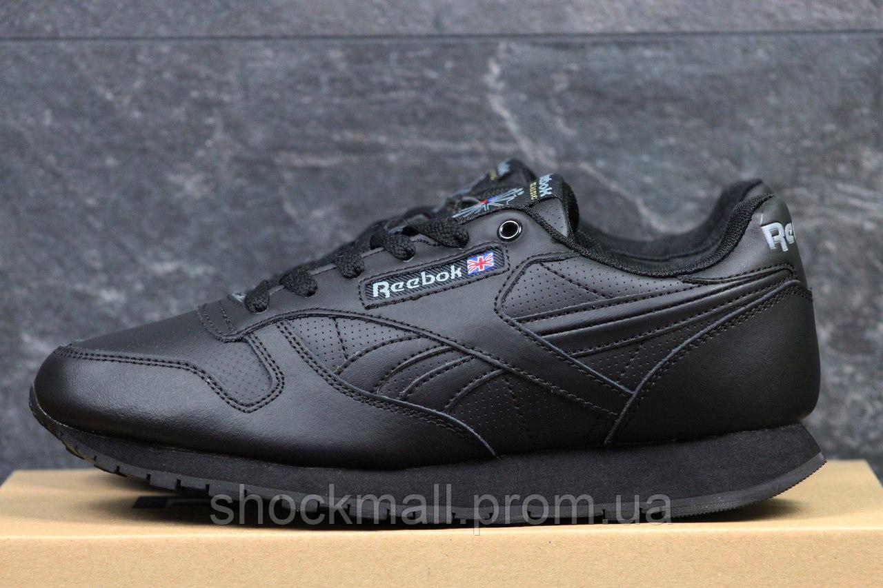 Купить Зимние кроссовки Reebok мужские черные кожа Вьетнам реплика  недорого 5a2aba82a62b1