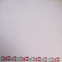 Бумага декоративная для скрапбукинга двухсторонняя 30*30см 002 TILDA