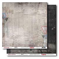 Бумага декоративная для скрапбукинга двухсторонняя 30*30см 220602201 ScrapBerrys