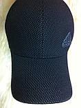 Шапка-бейсболка из трикотажного полотна цвет черный и серый, фото 3