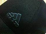 Шапка-бейсболка из трикотажного полотна цвет черный и серый, фото 2
